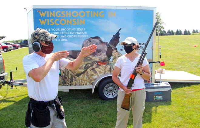 Sales of firearms and ammunition in 2020, including those used at clinics such as this Wingshooting in Wisconsin program held July 26 at Milford Hills Hunt Club in Johnson Creek, helped generate a record $1.09 billion to benefit conservation through the federal Wildlife and Sport Fish Restoration Programs.