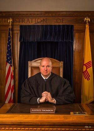 New Mexico Supreme Court Justice David K. Thomson