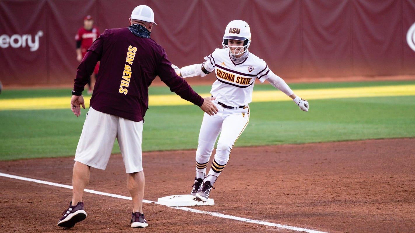 Giselle Juarez, No. 2 Oklahoma softball holds off No. 13 ASU