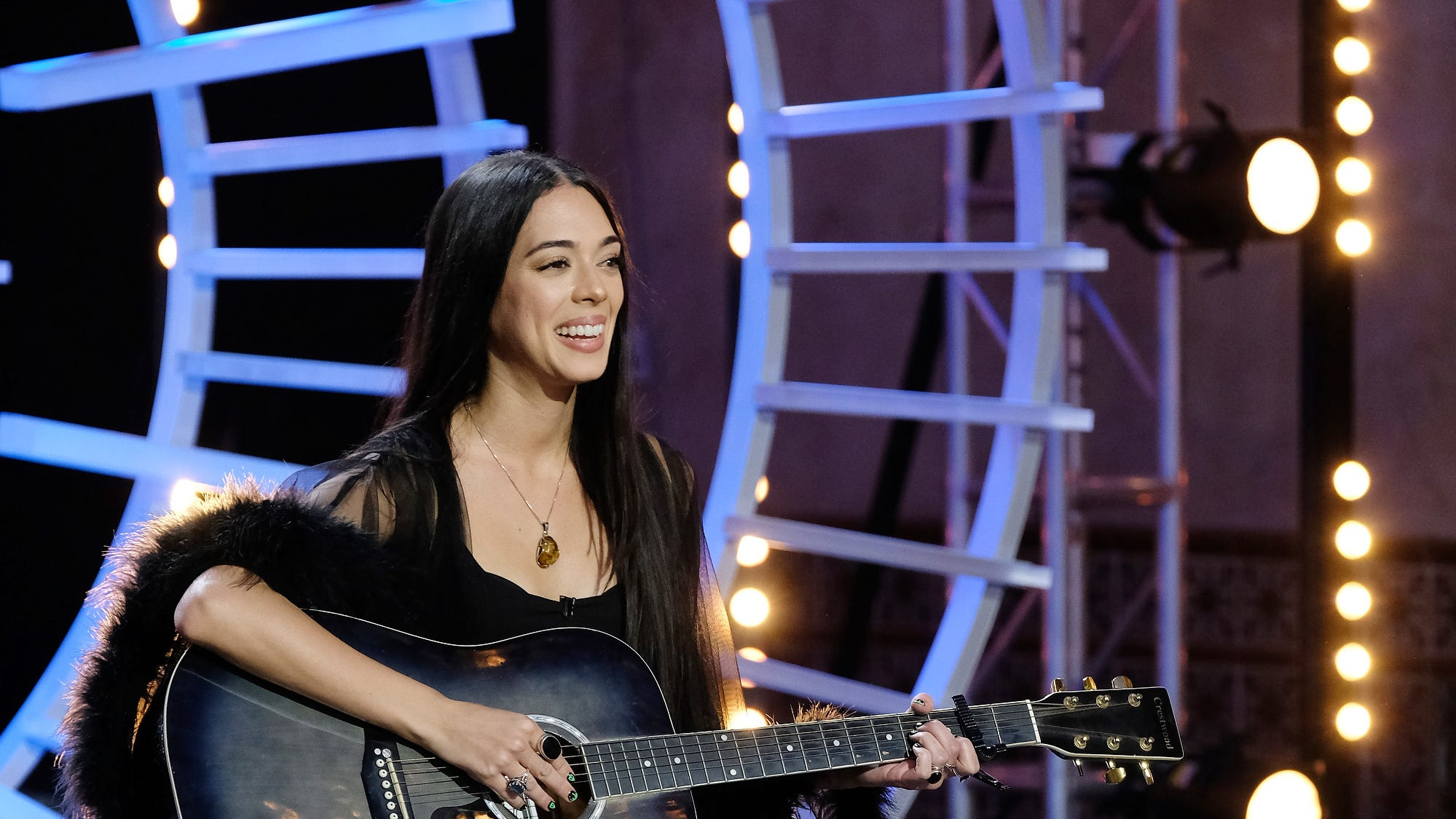 Erika Perrywasn't just tryingto prove to the judges she can sing— she was also tryingto prove something to her ex-boyfriend, who recently dumped her.