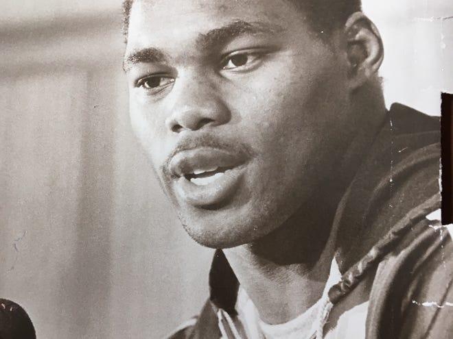 Herschel Walker, a college and NFL star running back