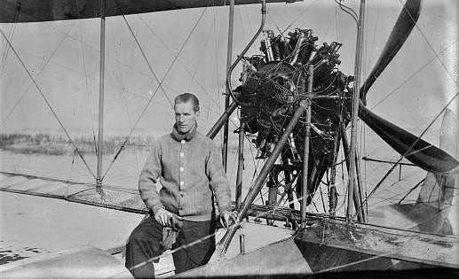 Early aviator Frank Coffyn