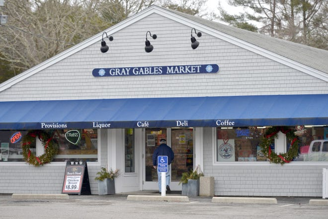 Gray Gables Market at 185 Shore Road in Bourne. The lawsuit between the store's owners and its neighbors has been continued until early April.