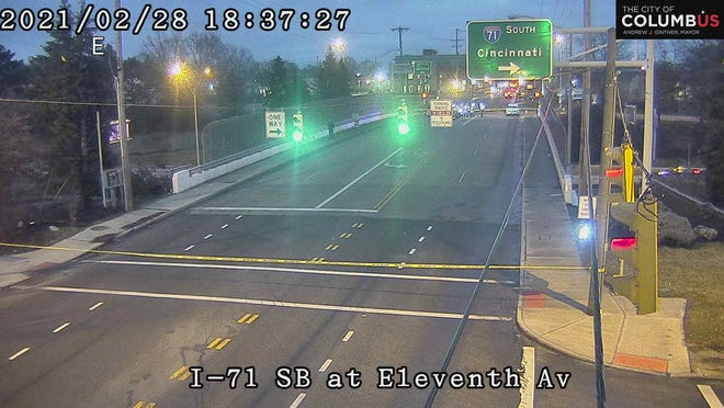 Columbus police are investigating a reported shooting in the area ofInterstate 71 and 11th Avenue that left one person dead.