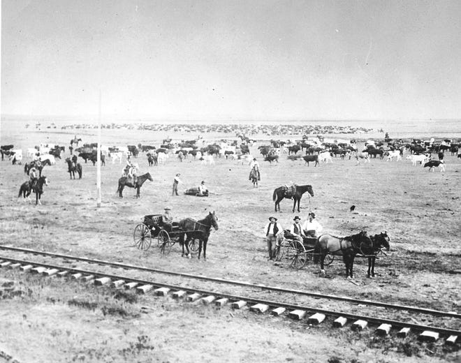 A cattle quarantine imposed on Dodge City in 1885.