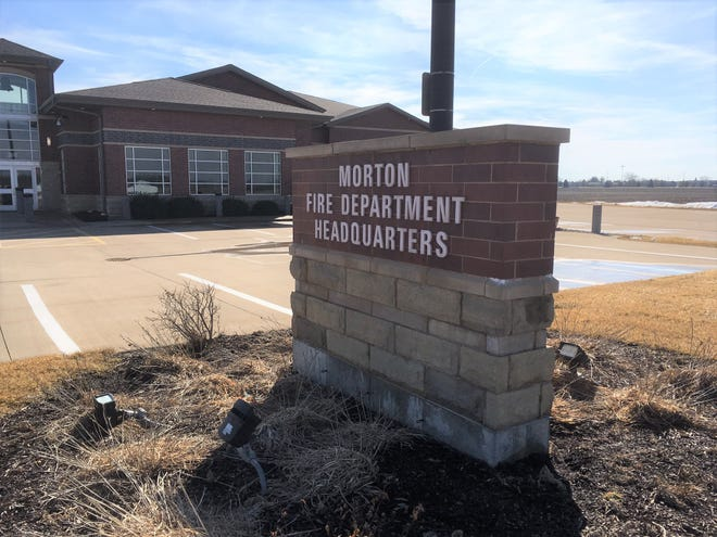 The Morton Fire Department has been providing fire and emergency medical services for the Groveland Fire Protection District since 2005. This is the department's headquarters station at 300 W. Courtland St.