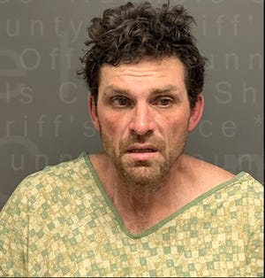 38-year-old Brian David McCoy of Hutto Texas was taken into custody, transported to the Runnels County Jail and charged with the following: Aggravated assault on a public servant a 1st degree felony - bond $200,000.00; Evading arrest/detention with vehicle  - 3rd degree felony – bond $30,000.00: Unauthorized use of a vehicle a State jail felony – bond $10,000.00: Possession of a controlled substance PG1 4-200 grams – bond $50,000.00