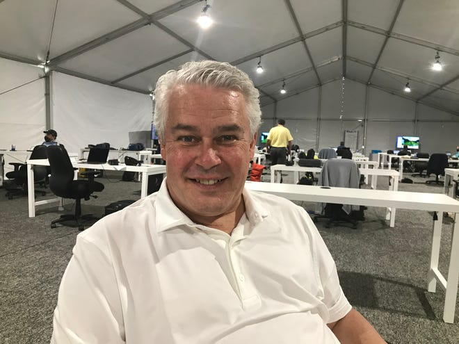 Ty Votaw, executive vice president of the International PGA Tour.