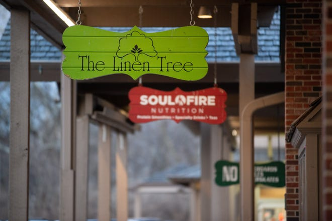 The Linen Tree plans to expand soon into the space at Brookwood Shopping Center now occupied by SoulFire Nutrition. SoulFire will then move four doors down, into the storefront between Wheatland Antique Mall and Top City Tech.