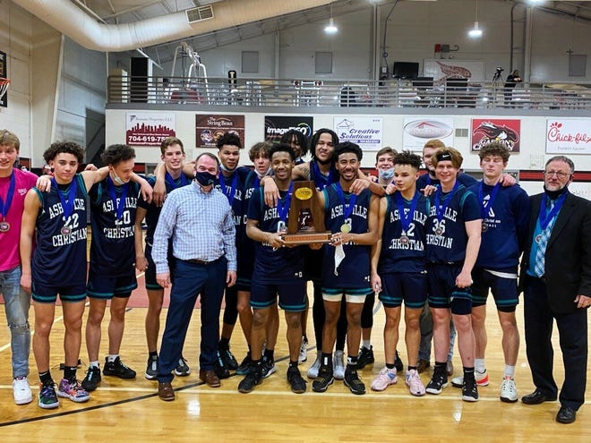 Asheville Christian Academy defeated Gaston Christian School for the NCISAA 3A State Championship.