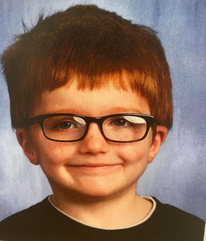 Police say the 6-year-old James was last seen near Crawford Street in Middletown, Ohio.