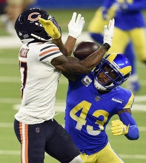 Los Angeles Rams safety John Johnson III has agreed to a 3-year contract with the Browns. [USA TODAY Network]