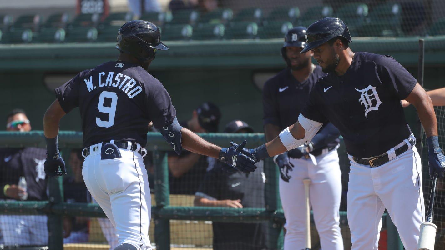 Willi Castro HR highlights Detroit Tigers' 10-2 win in Grapefruit League opener - Detroit Free Press