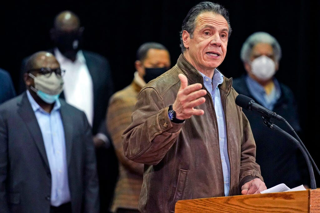 2nd former aide accuses Gov. Andrew Cuomo of sexual harassment 2