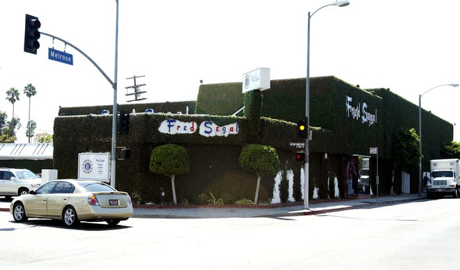 The Fred Segal store on Melrose Avenue in Hollywood is seen in  2003. Segal died Thursday.