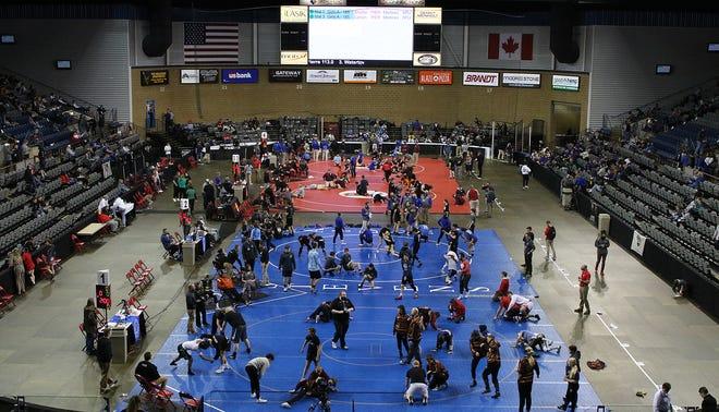 State wrestling 2021