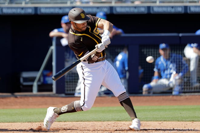 San Diego Padres outfielder Tommy Pham said he is 8-% recovered after being stabbed in the lower back in October.