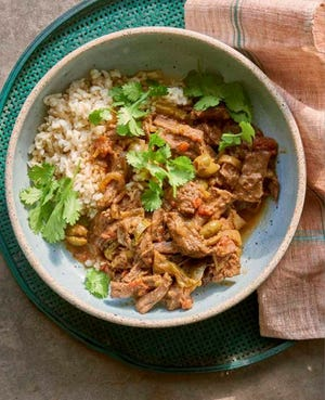 """Julia Turshen's new book is called """"Simply Julia,"""" and it includes a recipe for ropa vieja."""