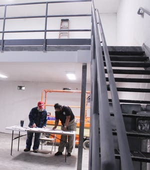 The new pod being completed in the Jefferson County jail will add 20 beds.