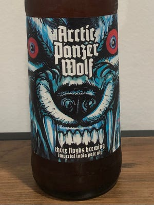 Arctic Panzer Wolf has a fearsome label and a fearsome hops profile.