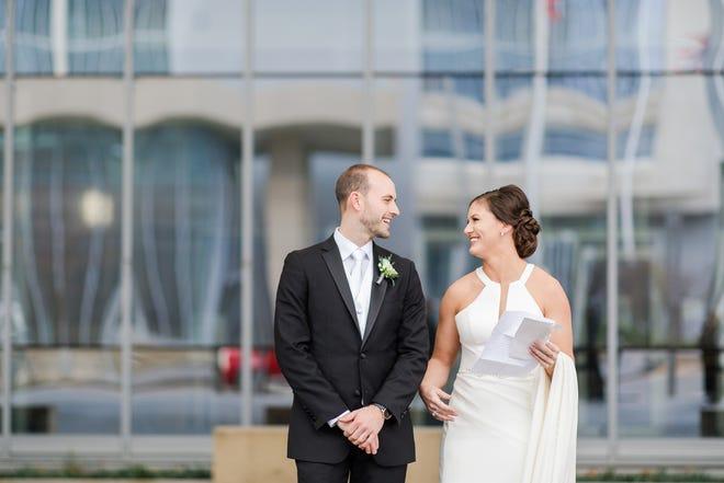 Jeff and Jamie Guynes were married Jan. 18, 2020, at  Vue Columbus.