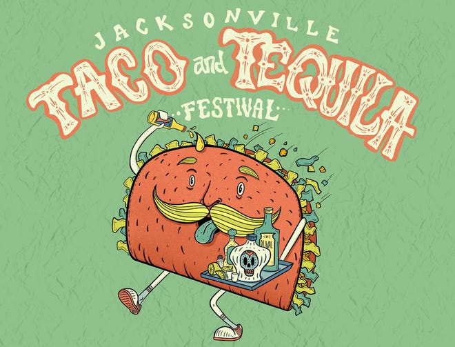 The inaugural Jacksonville Taco & Tequila Festival will be 11 a.m. to 8 p.m. May 2 under the Fuller Warren Bridge at the Northbank Riverwalk artist square.