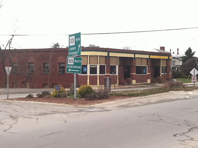 A recent view of the former Syndicate Block in Gardner.