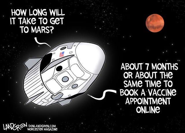 Today's editorial cartoon (March 2, 2021)
