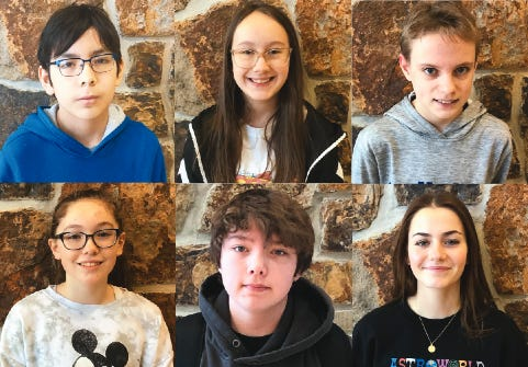 School of the Osage has announced its January Leaders of the Month.
