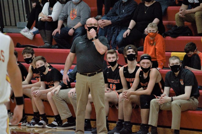 Former Dundee coach Jeff Turner is now the varsity boys basketball coach at his alma mater, Jonesville. He earned his 200th career win Friday night.