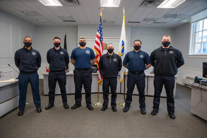 The Framingham Fire Department welcomed new six firefighters on Monday — Shane Arrandale, Antonio Alvarez, Cameron Bryan, Daniel Chapoteau, Daniel Sweeney and Thomas Zanella.