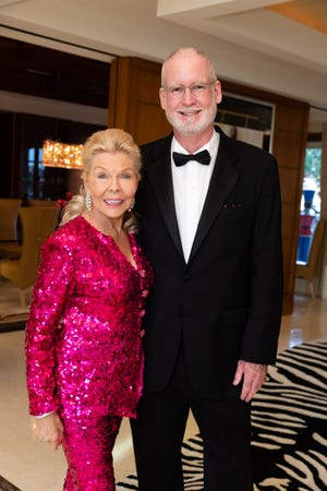 Lois Pope and Bill Porter