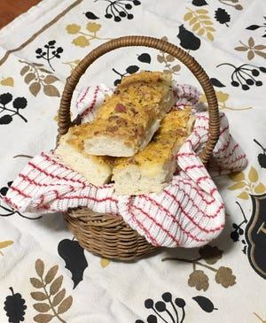 Breadsticks from the recipe of Gloria Yoder's mother in The Amish Cook.