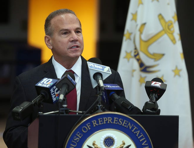 "U.S. Rep. David N. Cicilline said U.S. Rep. Marjorie Taylor Greene could ""get lost"" after Taylor Greene referred to him as ""Rep. Mussolini."""