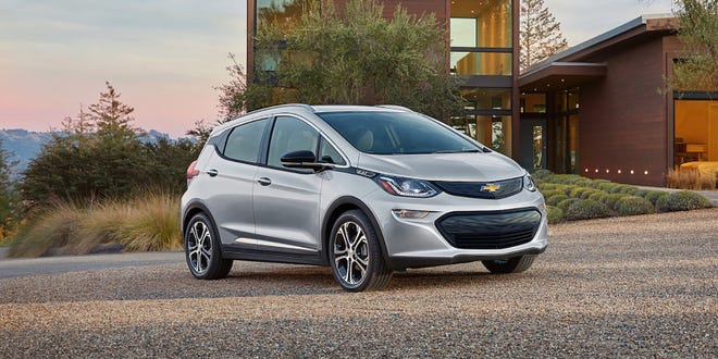 The length of the 2021 Chevrolet Bolt EV is 13 feet 8 inches.