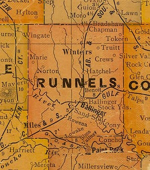 Runnels County Register - Around the County