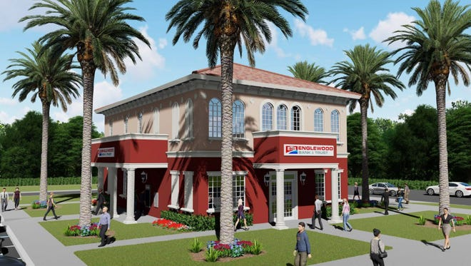 Englewood Bank & Trust plans to build a two-story, 4,217-square-foot bank at 207 S. Tamiami Trail, Venice.