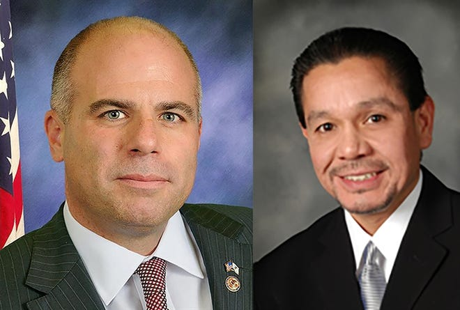 Former Sen. Sam McCann and former Rep. Edward Acevedo are both facing federal charges.