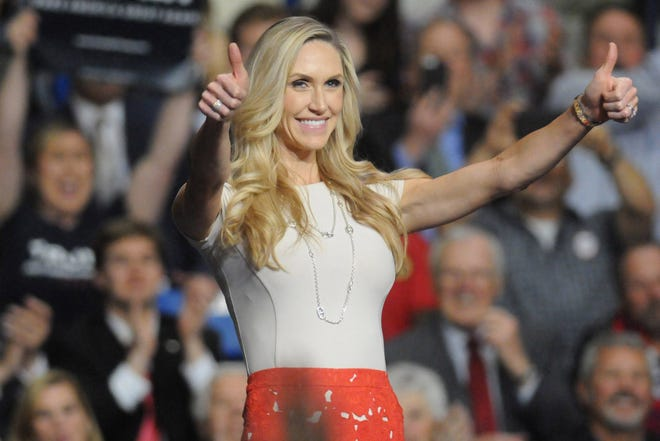 From Wrightsville Beach, Lara Trump is the daughter-in-law of President Donald Trump and served as a campaign adviser.