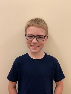 Mason Vrba of Carolina Beach Elementary School is New Hanover County Schools' Student of the Week.