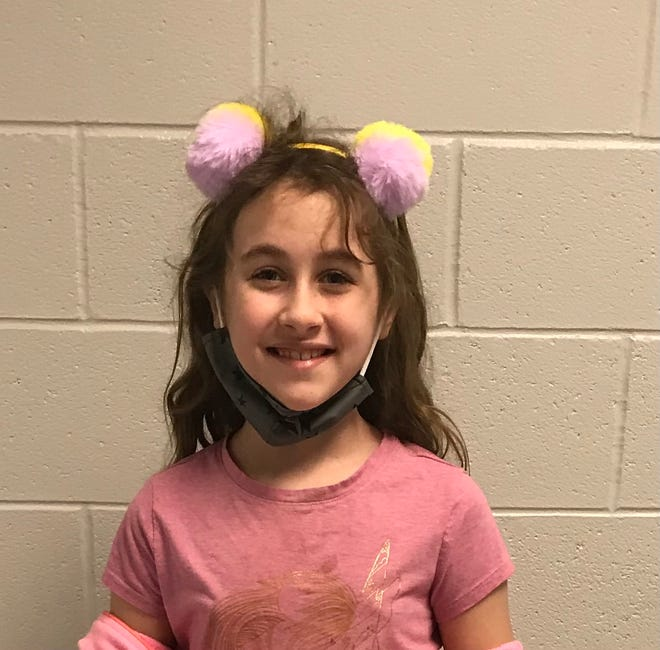 Aria Hassler of Surf City Elementary is Pender County Schools' Student of the Week.