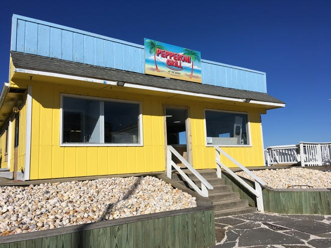 The Pepperoni Grill at the Beach in Oak Island is renovating to allow for increased production and add a backyard dining space. [ALLISON BALLARD/STARNEWS]