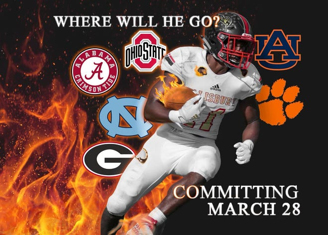 Four-star 2022 Salisbury linebacker Jalon Walker posted this edit on his Twitter account March 1.
