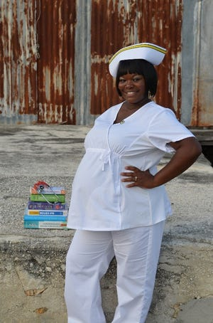 Merlonda Jones received educational support from Central Florida Community Action Agency, enabling her to earn an associate of science degree in nursing. She is gainfully employed with job security. [Submitted photo]