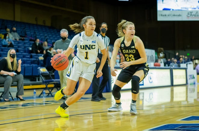Pueblo West's Hannah Simental is playing Division I basketball for University of Northern Colorado.