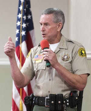 San Bernardino County Sheriff John McMahon in an undated photo.
