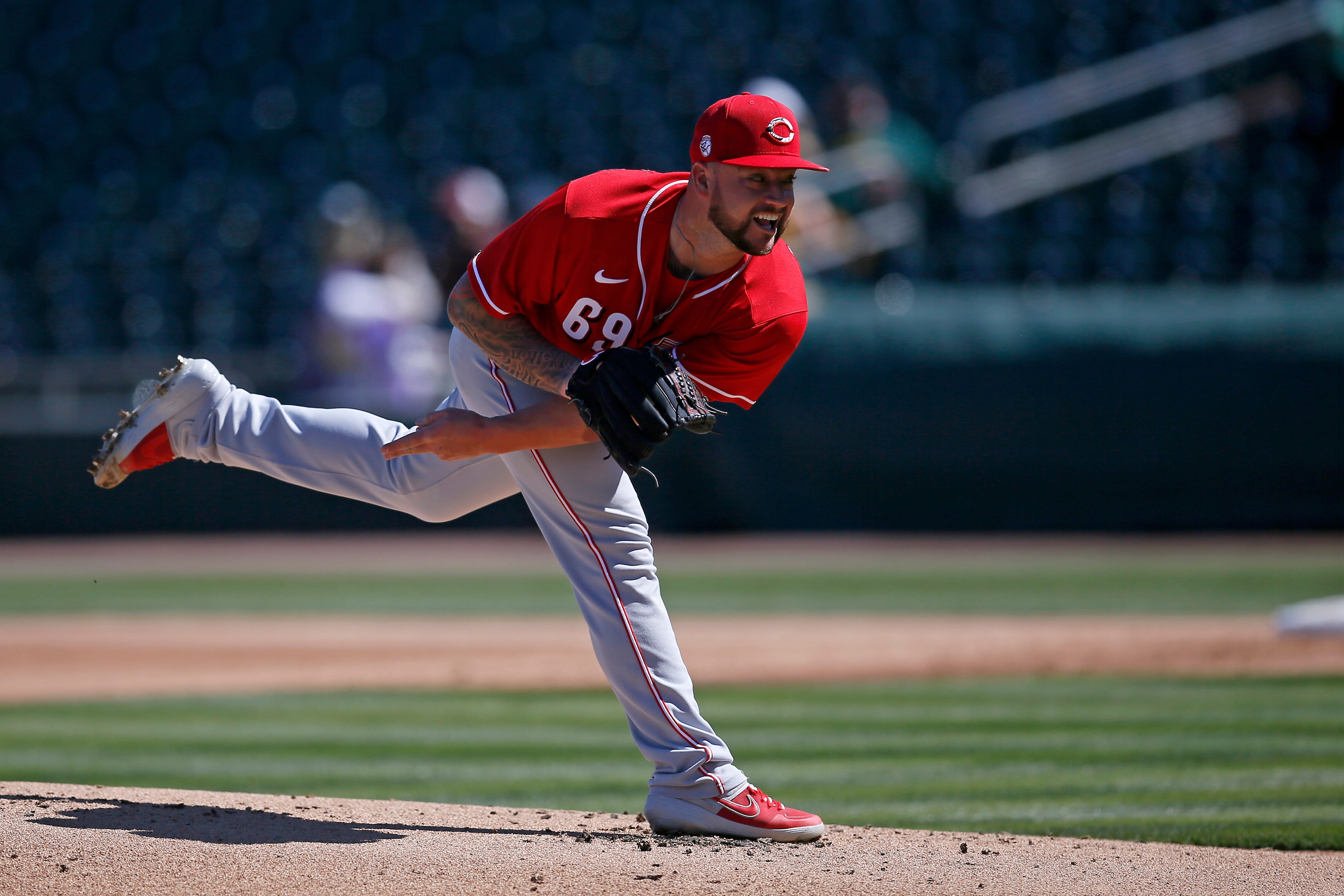 Brandon Finnegan and Alex Blandino stand out as Reds play Mariners