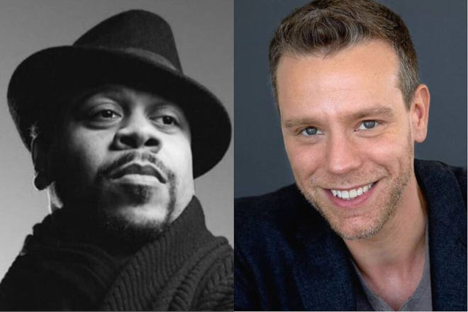 Wardell Julius Clark and Adam Pascal