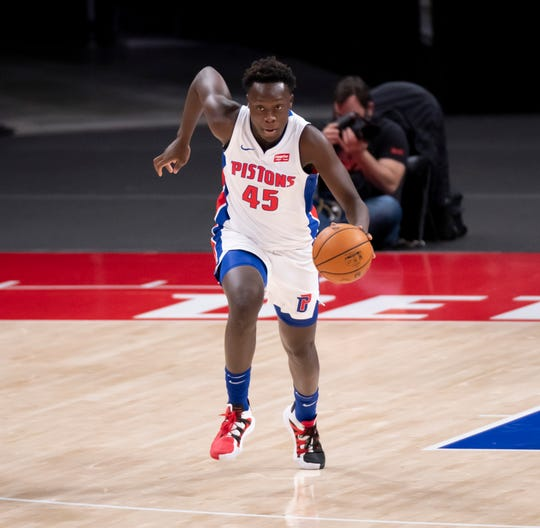 Sekou Doumbouya and the Pistons might have their game Tuesday against the Toronto Raptors postponed.