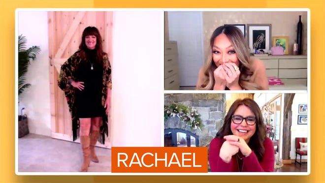 """Cape Coral's Lisa Fasulo reveals her makeover on the March 1 episode of """"The Rachael Ray Show."""""""